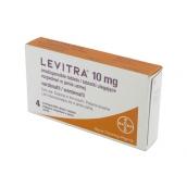 Левитра ОДТ 10мг №4 таблетки диспергируемые в полости рта