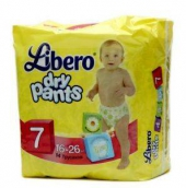 Либеро трусики Dry pants 16-26кг extra large plus 14шт