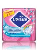 Либресс инвизибл прокладки normal deo (мягкая поверхность) 10шт