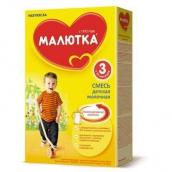 Малютка 3 смесь сухая молочная для детей 350г