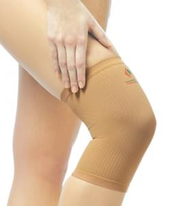 Тонус бинт эластичный трубчатый для фиксации коленного сустава разм.2/бежевый