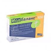 Йодбаланс 100мкг №100 таблетки