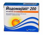 Йодомарин 200мкг №100 таблетки