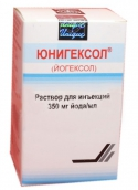 Юнигексол раствор для инъекций 350мг/мл 100мл №1 флакон